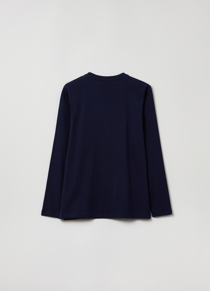 Long-sleeved, printed T-shirt image number null