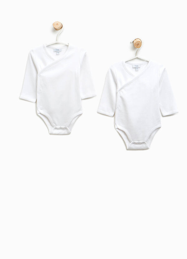 Two-pack long sleeves bodysuits in cotton | OVS