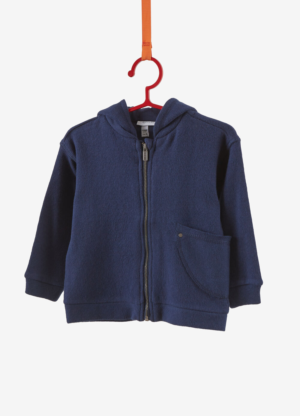 Stretch hoodie with pocket