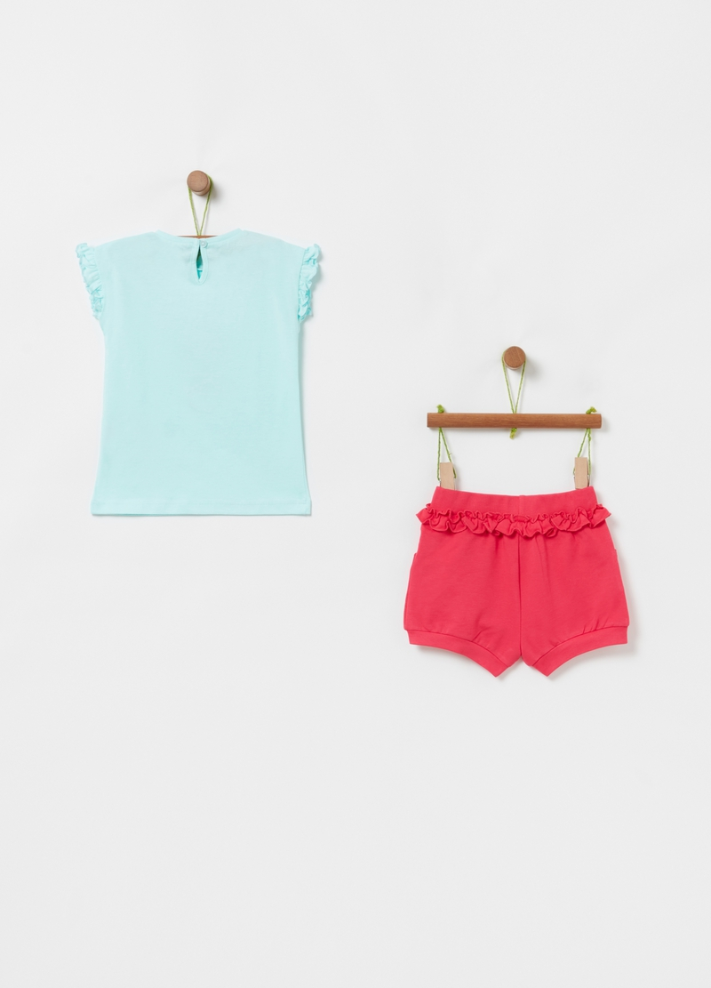 Set t-shirt e shorts Disney Baby Minnie image number null