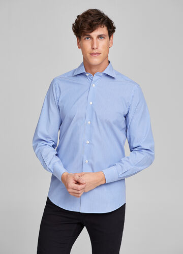 Camicia formale slim fit righe