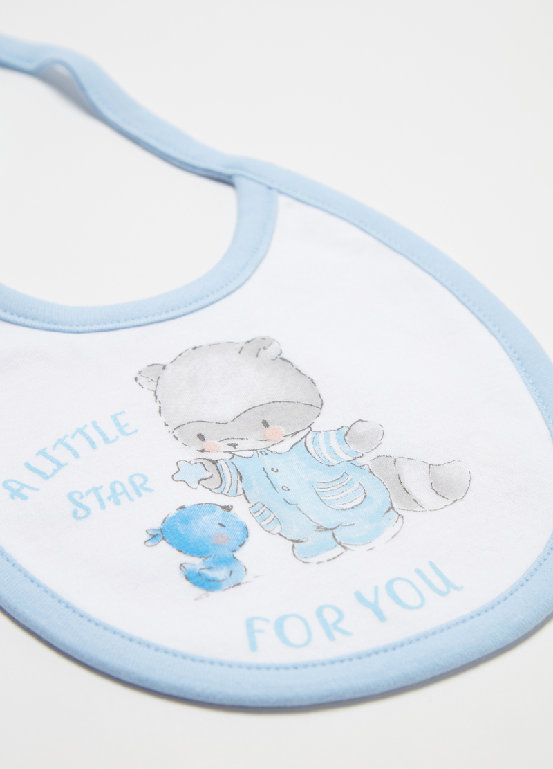 Two-pack bibs with animals image number null