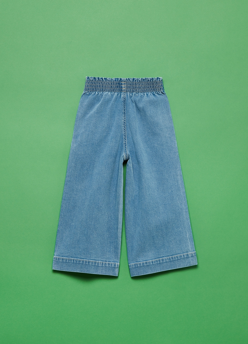 Jeans cropped wide leg image number null