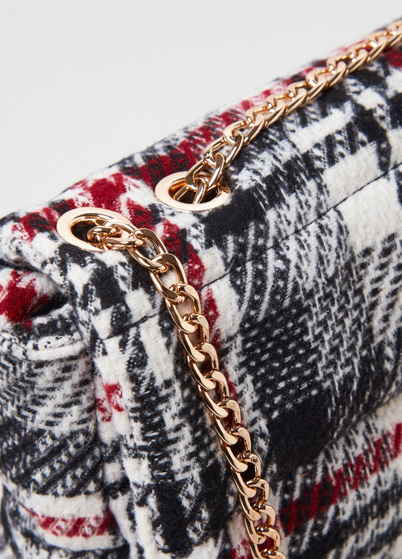 Bag with chain shoulder strap image number null
