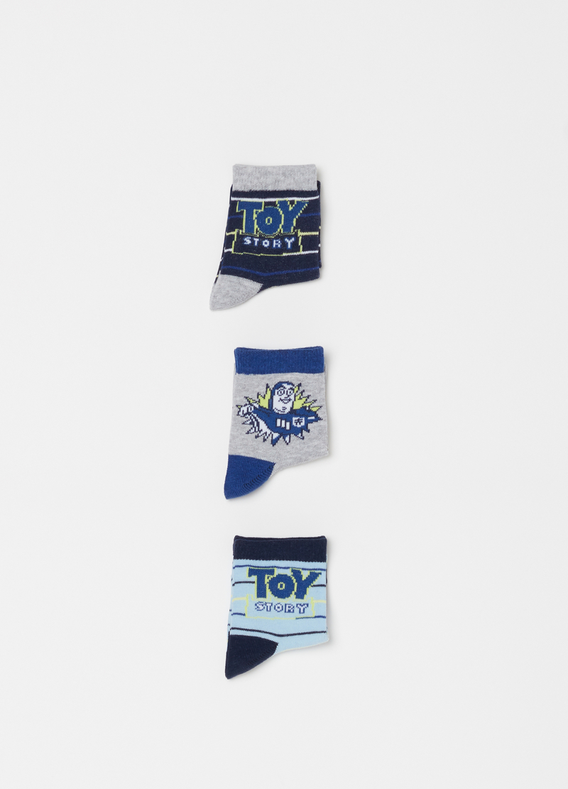 Three-pair pack Disney Toy Story 3 socks image number null