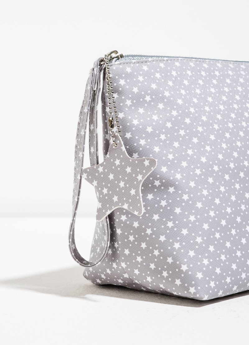 Patterned pouch with star insert image number null