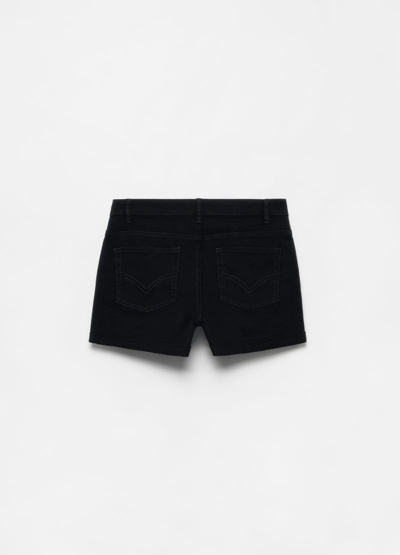 Shorts in cotone stretch cinque tasche image number null
