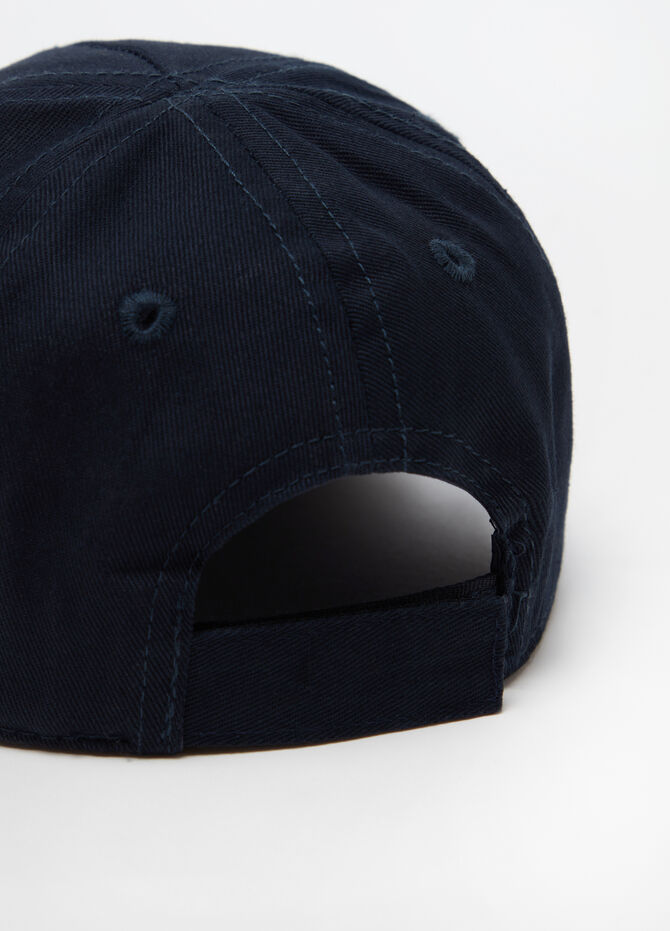 Baseball cap with Velcro and print