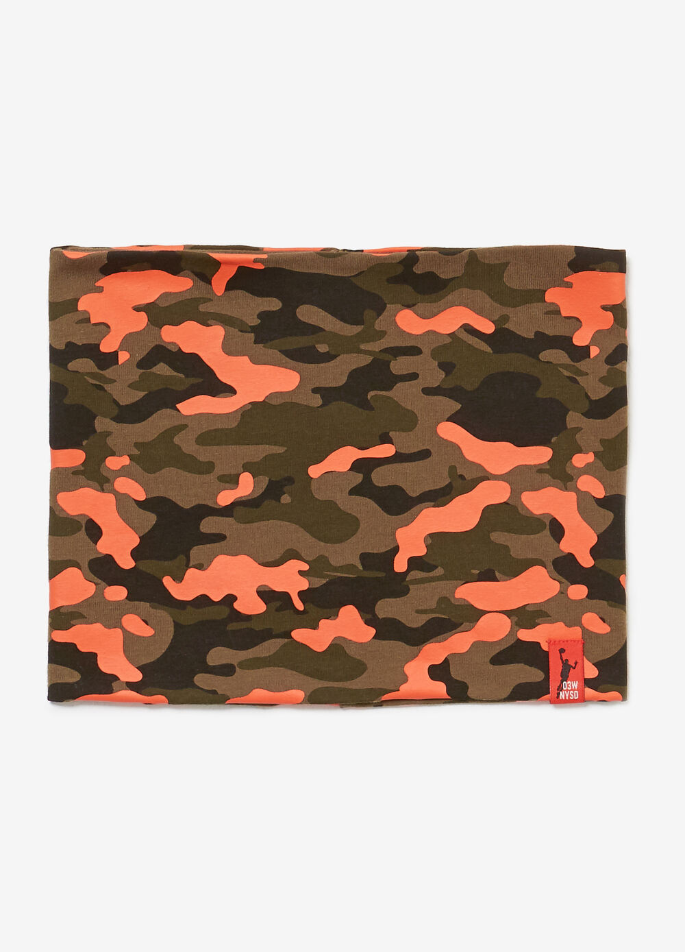 100% cotton camouflage neck warmer