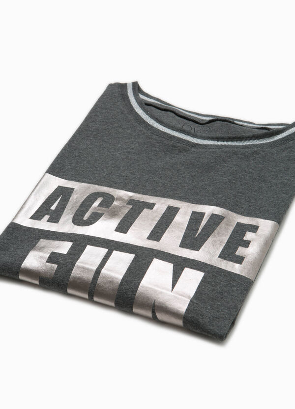 T-shirt OVS Active Sport Training stampa