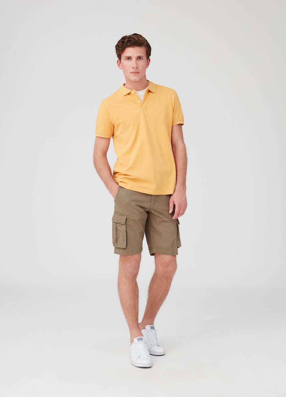 Bermuda regular fit modello cargo