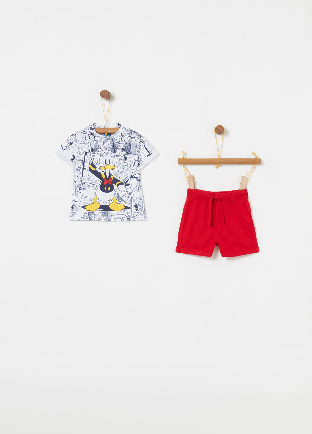Disney Baby T-shirt and shorts jogging set