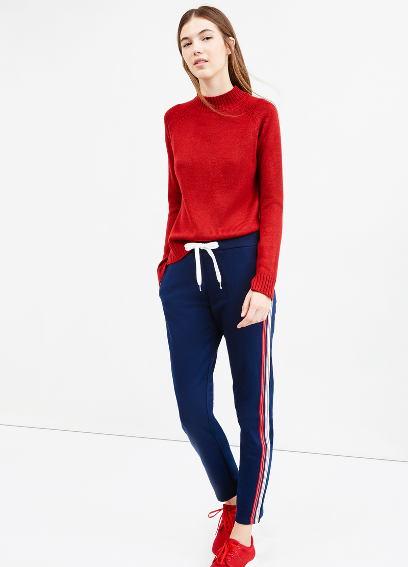 Joggers contrasting drawstring image number null