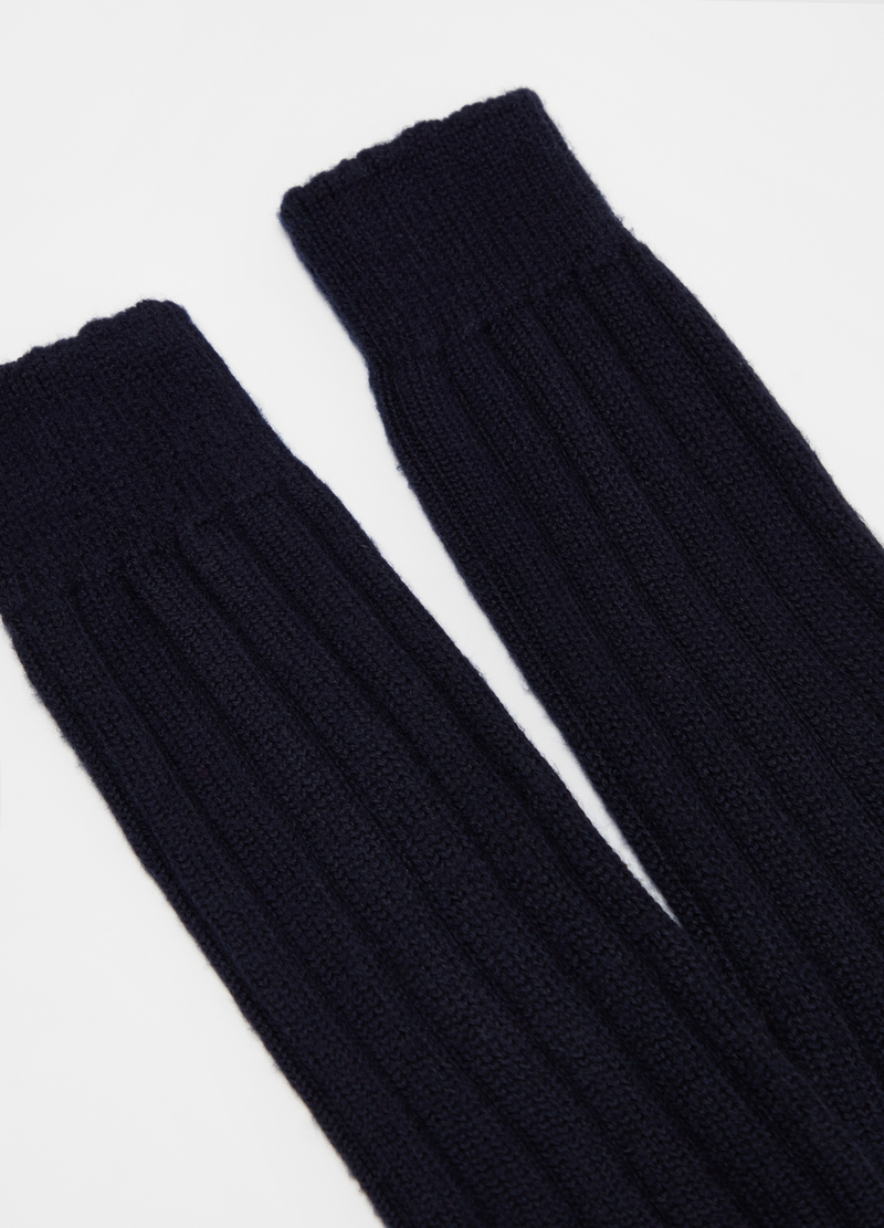 PIOMBO long socks in cashmere blend image number null