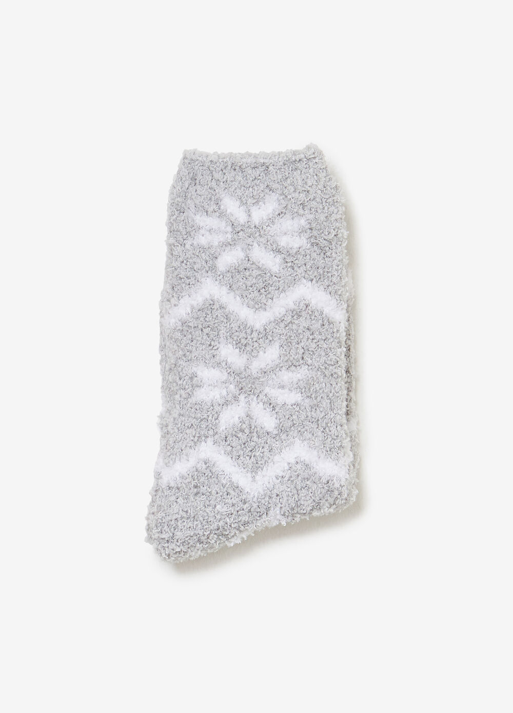 Short stretch socks with pattern