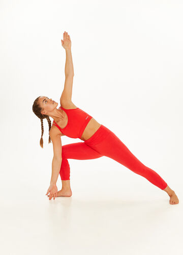 Stretch crossover top
