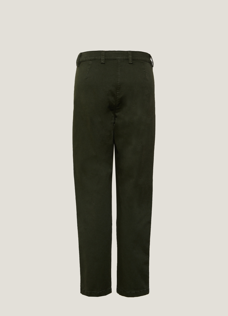 PIOMBO Pantalone chino stretch image number null
