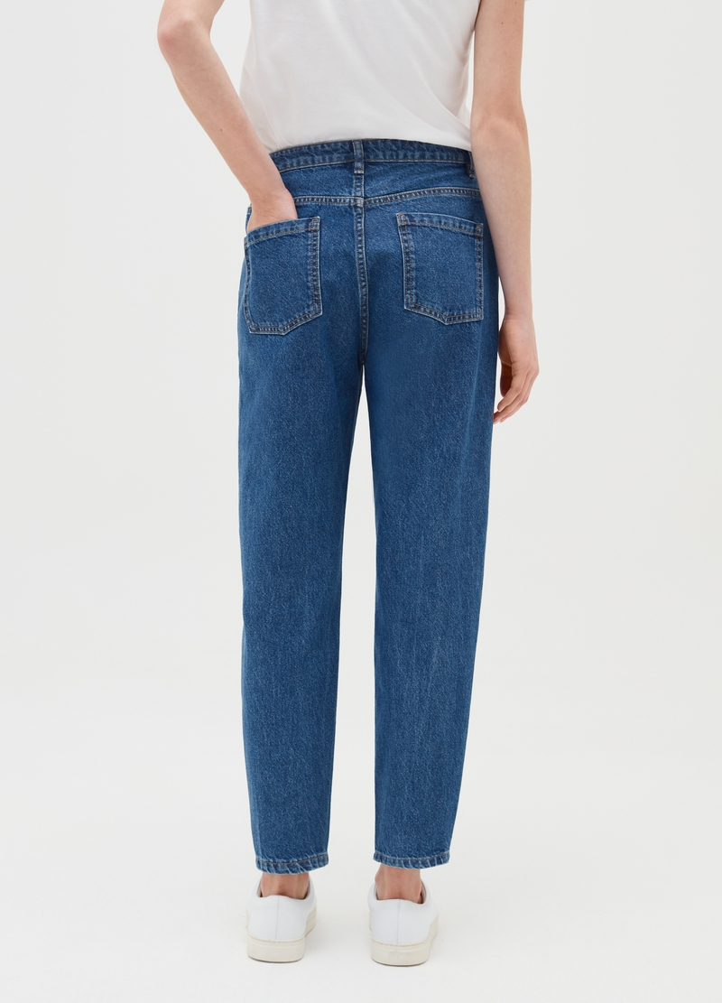 Slouchy jeans with darts image number null