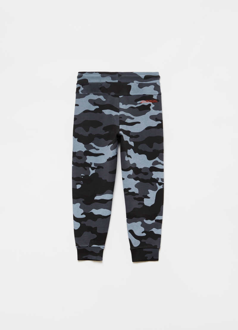 Joggers in French Terry camouflage image number null
