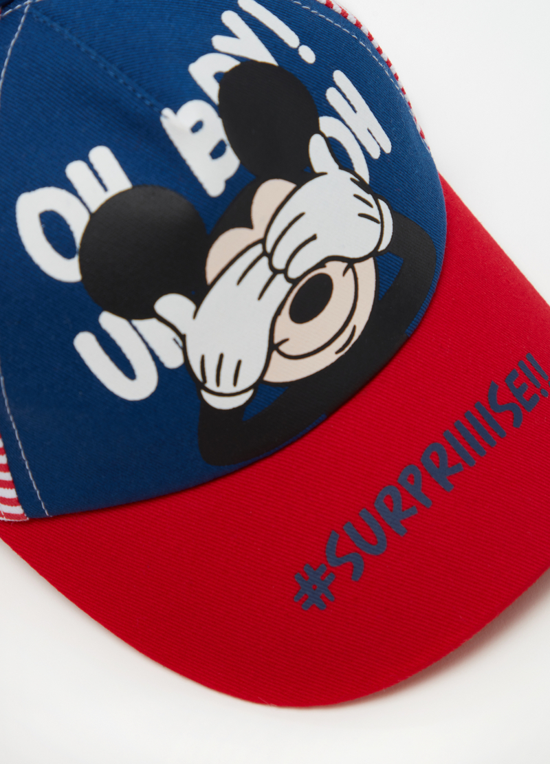 Disney Baby baseball cap with stripes image number null