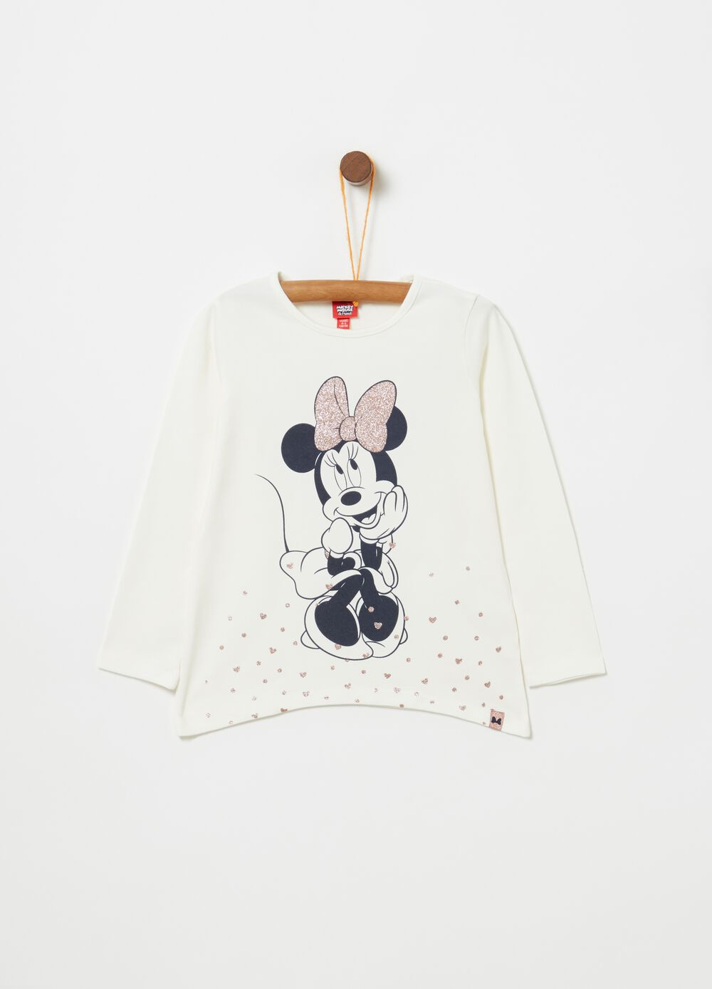 T-shirt maniche lunghe Disney Minnie