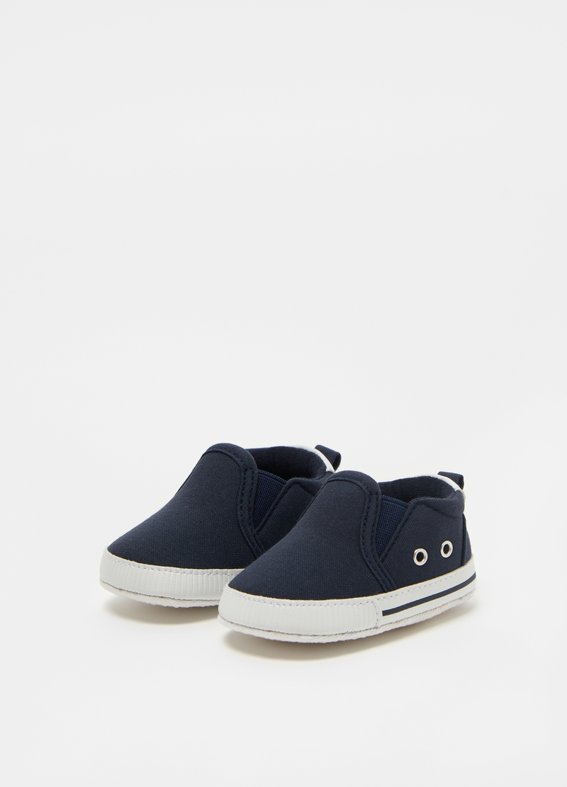 Cotton slip-on shoes image number null