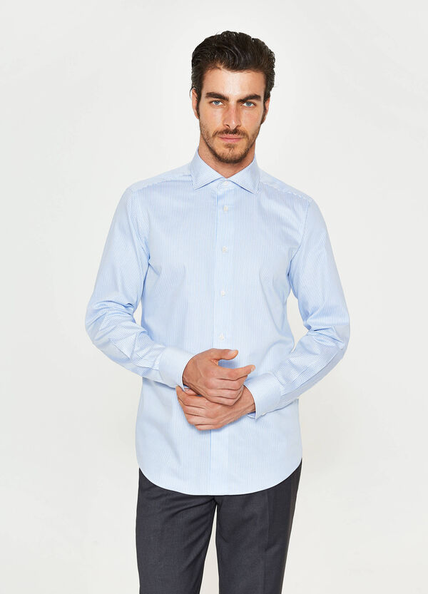 Camicia formale slim fit fantasia a righe | OVS
