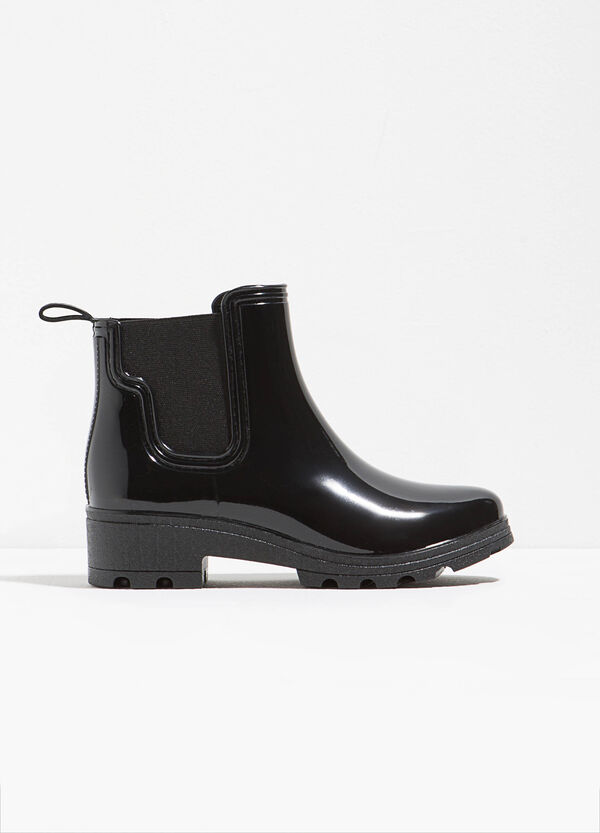 Rubber waterproof ankle boots | OVS