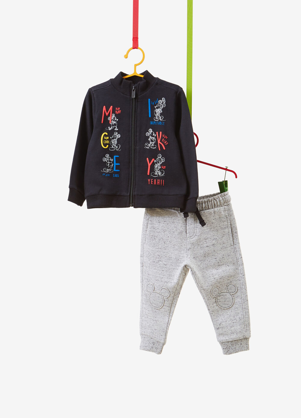 Mickey Mouse tracksuit with sweatshirt and trousers