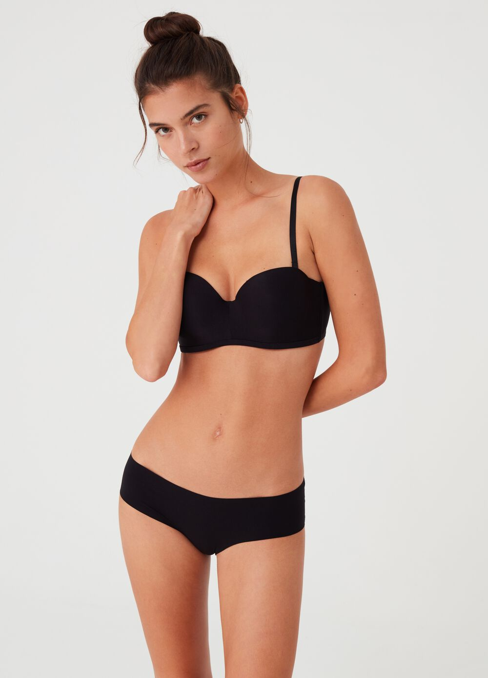 French hipster knickers invisible under clothing