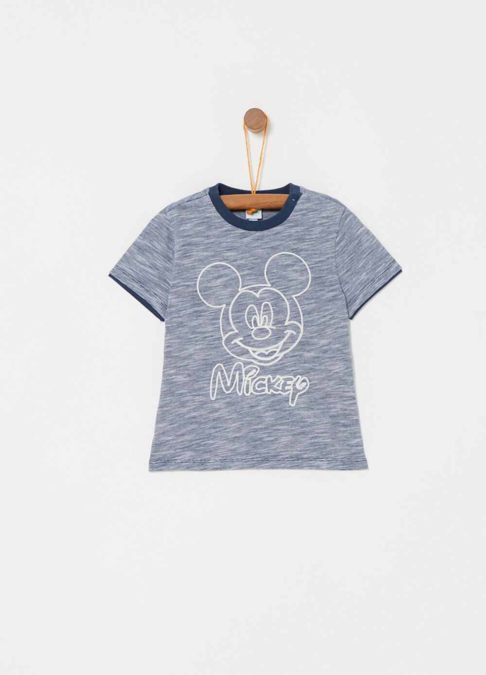 Mickey Mouse mélange cotton T-shirt