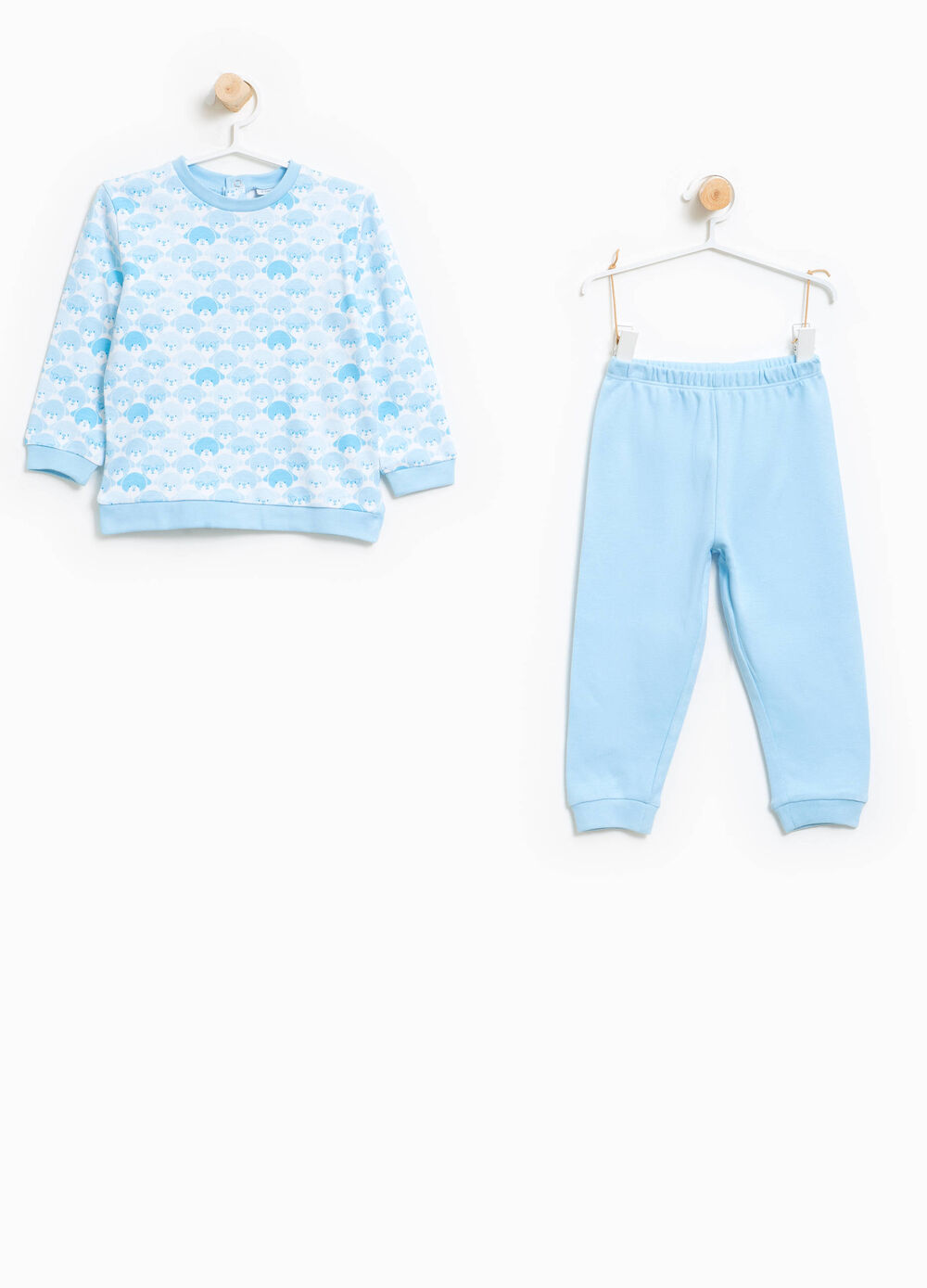 Cotton pyjamas with teddy bears