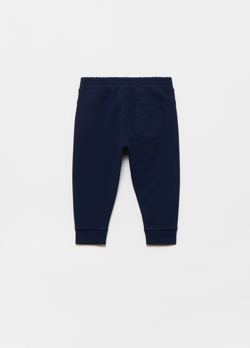 Joggers in French Terry puro cotone bio image number null