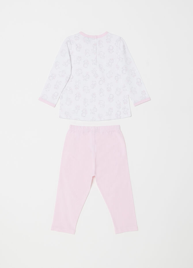 Animals pyjamas with top and trousers