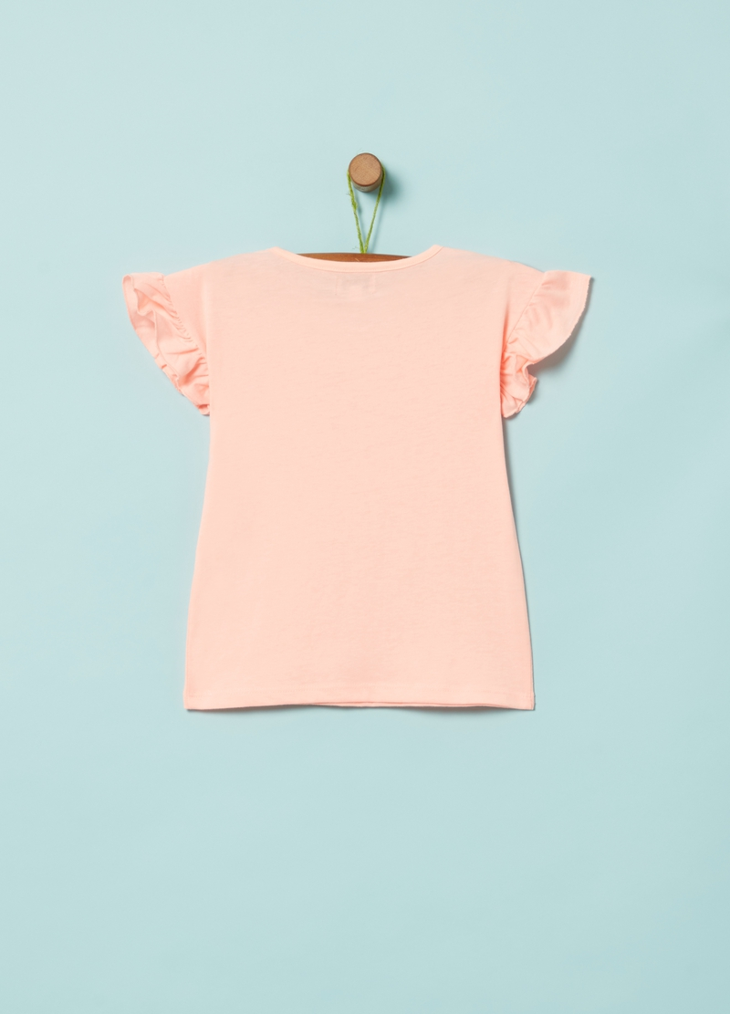 100% organic cotton glitter T-shirt image number null