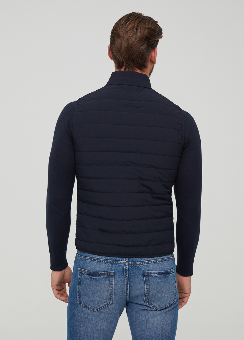 Quilted full-zip gilet image number null