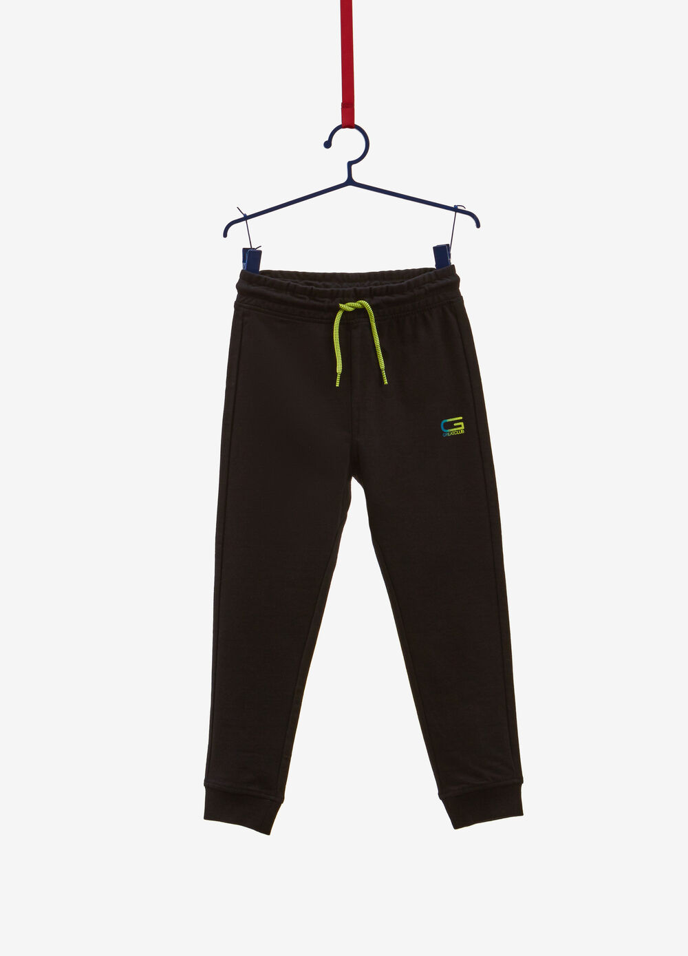 Joggers in 100% cotton with print