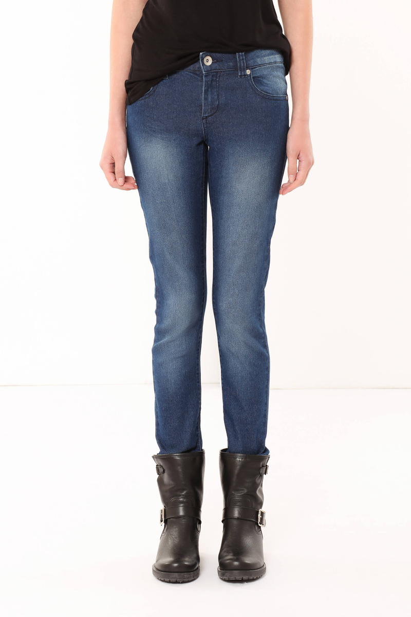Slim fit washed jeans image number null