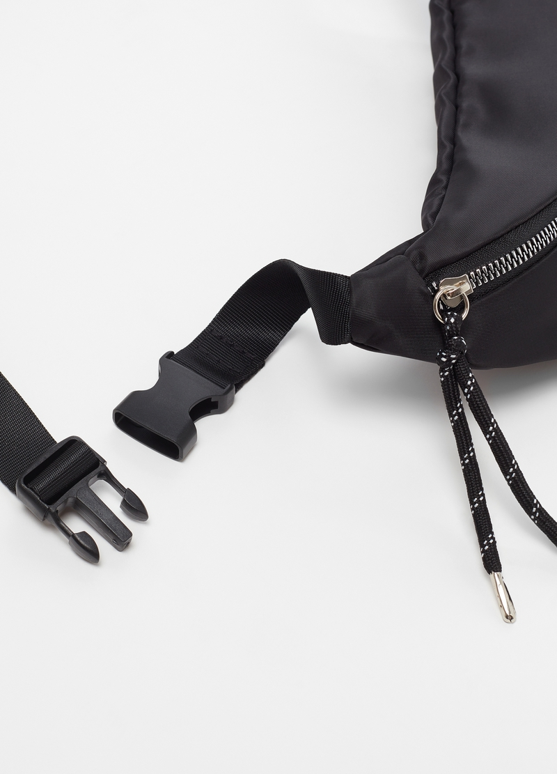 Nylon bum bag with zip image number null