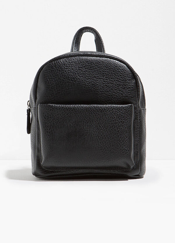 Textured backpack with pocket | OVS