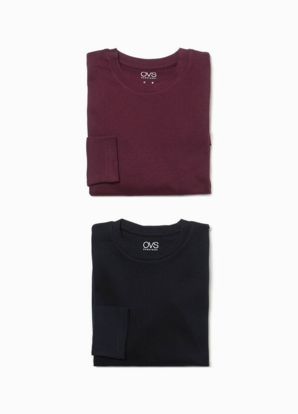 Two-pack, long-sleeved under shirts