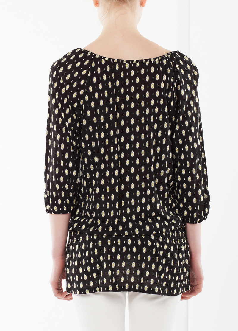 Self-tie blouse image number null