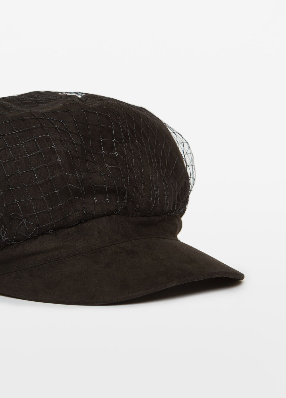 Baker boy hat with mesh