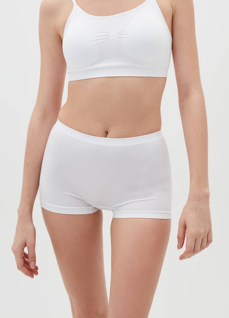 Seamless maximum comfort French knickers image number null
