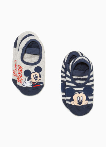 Set due paia di calze Mickey Mouse
