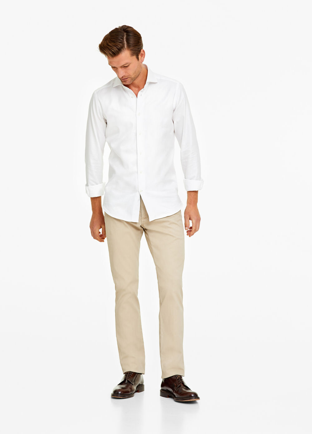Pantaloni chino regular fit stretch