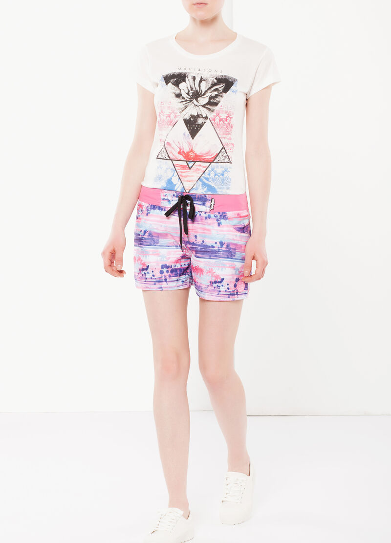 Shorts con coulisse by Maui and Sons