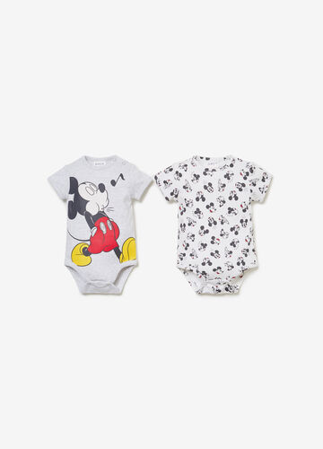 Set due body cotone BCI Mickey Mouse