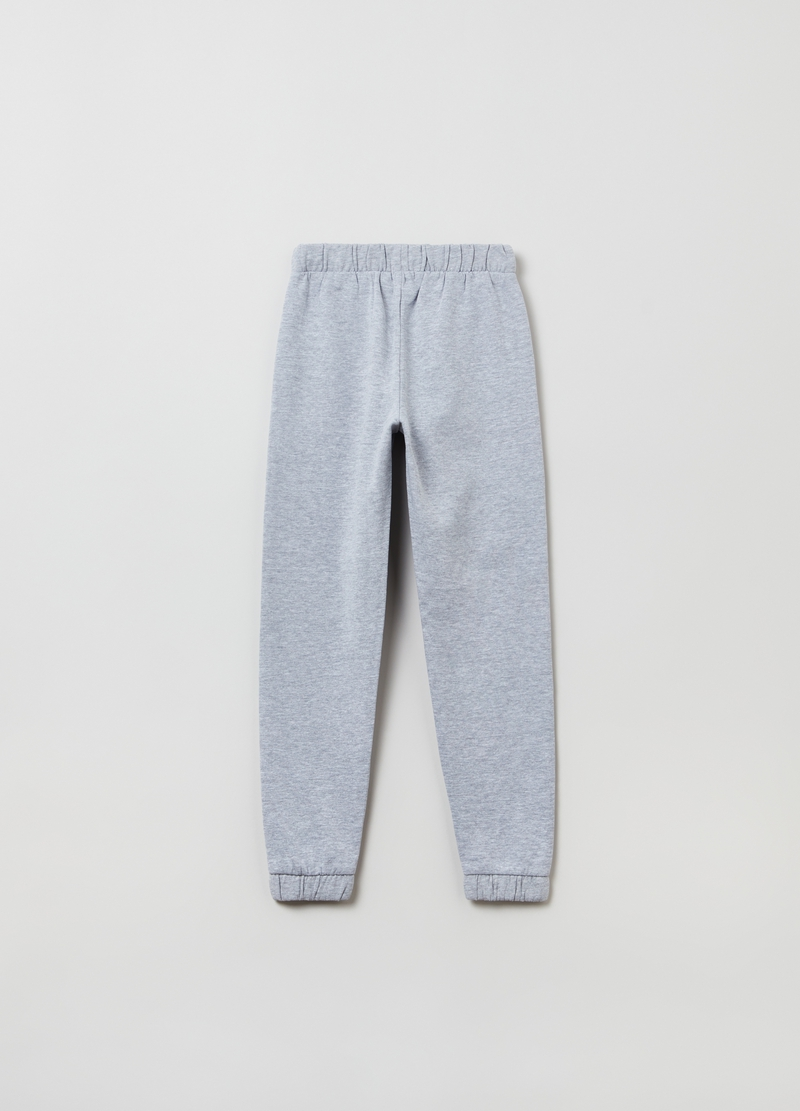 Joggers in French Terry mélange image number null