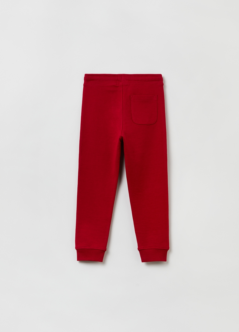 Joggers in felpa con coulisse image number null